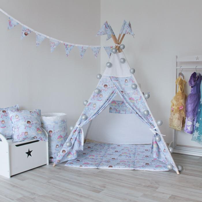 Вигвам для детей Princess&Amp;Unicorn из 100% хлопка