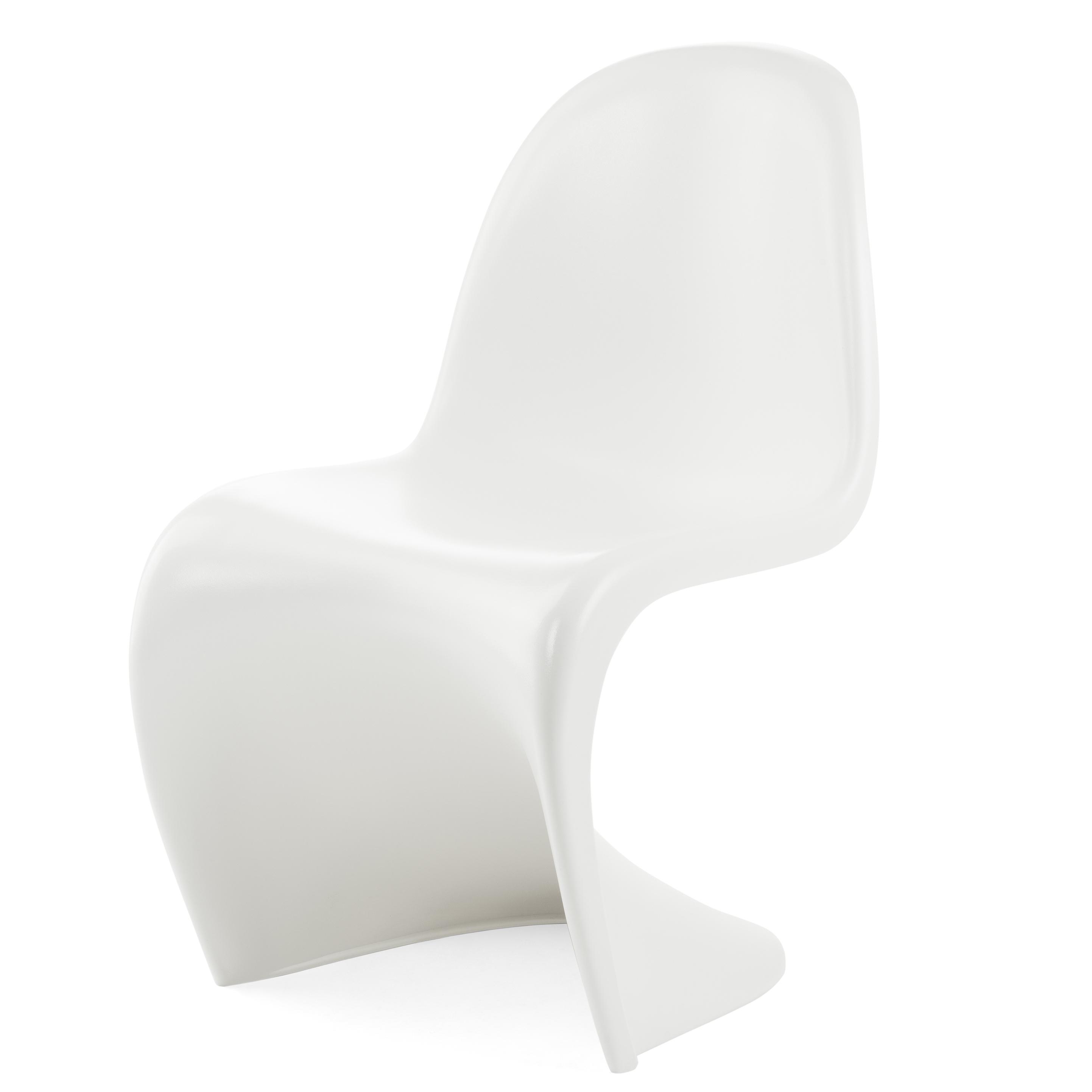 Фото #1: Детский стул из стекловолокна белый