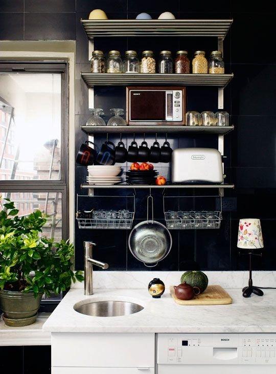 Фотография: Кухня и столовая в стиле Лофт, Советы, уборка – фото на InMyRoom.ru