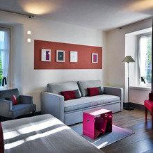 Фотография: Гостиная в стиле Минимализм, Италия, Дома и квартиры, Городские места, Отель – фото на InMyRoom.ru
