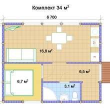 Фото из портфолио Rubus Home - варианты планировки – фотографии дизайна интерьеров на INMYROOM