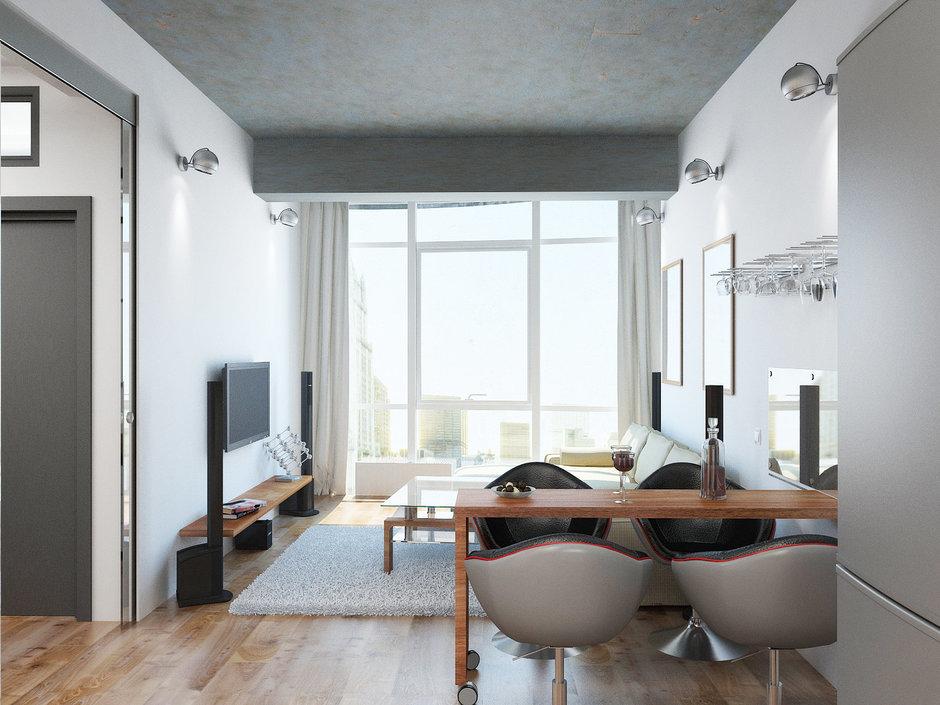 Фотография: Гостиная в стиле Лофт, Современный, Декор интерьера, Квартира, Globo, Massive, Дома и квартиры, IKEA, Проект недели, Ideal Lux – фото на InMyRoom.ru