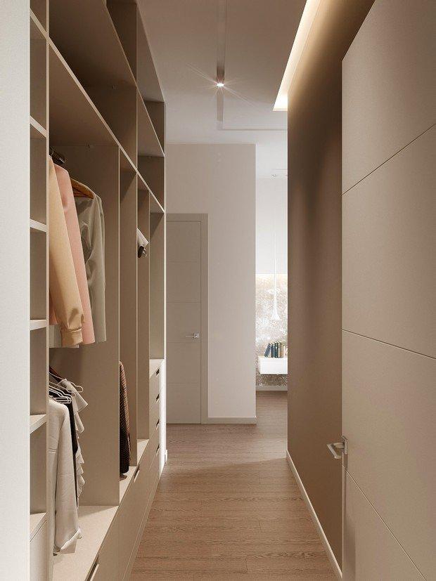 Фотография: Гардеробная в стиле Современный, Miele, Проект недели, 2 комнаты – фото на INMYROOM