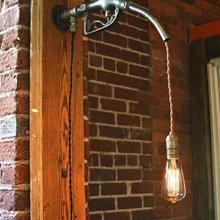 Фотография: Мебель и свет в стиле Кантри, Лофт, Современный – фото на InMyRoom.ru