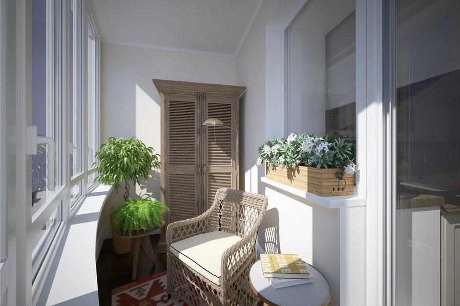 Фотография: Балкон в стиле Прованс и Кантри, Квартира, Проект недели, Санкт-Петербург, Светлана Гаврилова – фото на InMyRoom.ru