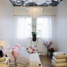 Фотография: Спальня в стиле Современный, Эклектика, Малогабаритная квартира, Квартира, Дома и квартиры – фото на InMyRoom.ru