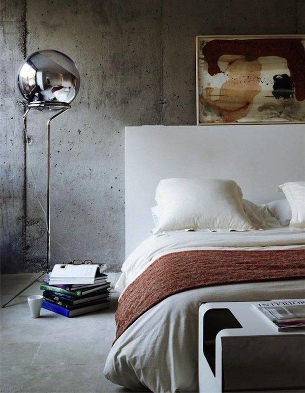 Фотография: Спальня в стиле Лофт, Декор интерьера, Декор дома, Индустриальный – фото на InMyRoom.ru