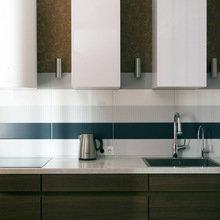 Фотография: Кухня и столовая в стиле Современный, Лофт, Малогабаритная квартира, Квартира, Дома и квартиры, Проект недели – фото на InMyRoom.ru