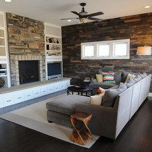 Фото из портфолио Деревянные интерьерные стены – фотографии дизайна интерьеров на INMYROOM