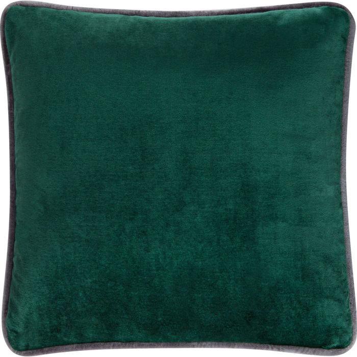 Подушка с обивкой из зелёной ткани