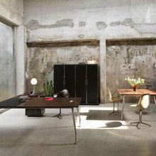 Фотография: Офис в стиле Лофт, Кабинет, Интерьер комнат – фото на InMyRoom.ru