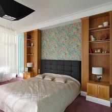 Фотография: Спальня в стиле Современный, Квартира, Artemide, BoConcept, Calligaris, Цвет в интерьере, Дома и квартиры, Санкт-Петербург – фото на InMyRoom.ru