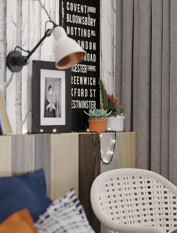 Фото из портфолио 2+1 – фотографии дизайна интерьеров на INMYROOM