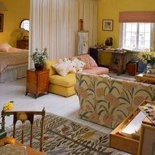 Фотография: Гостиная в стиле Кантри, Декор интерьера, Малогабаритная квартира, Квартира, Студия – фото на InMyRoom.ru