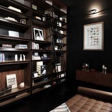 Фотография: Кабинет в стиле Современный, Дом, Цвет в интерьере, Дома и квартиры, Белый – фото на InMyRoom.ru