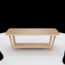 """Кофейный столик Unika """"Luleå"""" дуб"""