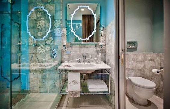 Фотография: Ванная в стиле Восточный, Дома и квартиры, Городские места, Отель, Модерн, Милан, Замок – фото на InMyRoom.ru
