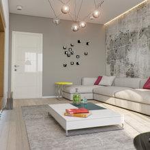 Фото из портфолио Квартира в молодежном стиле с яркими акцентами – фотографии дизайна интерьеров на INMYROOM