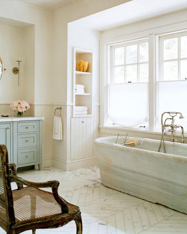 Фотография: Ванная в стиле Прованс и Кантри, Советы, Инесса Терновая, Schneider Electric – фото на INMYROOM