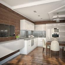 Фото из портфолио Кухни в современном стиле – фотографии дизайна интерьеров на InMyRoom.ru