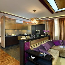 Фото из портфолио Квартира в стиле Ар-деко 180 кв.м. – фотографии дизайна интерьеров на InMyRoom.ru