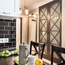 Фотография: Кухня и столовая в стиле Кантри, Квартира, Проект недели, Москва, Дина Салахова – фото на InMyRoom.ru