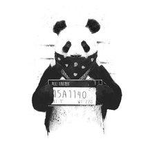 Принт «Bad panda» by Balazs Solti