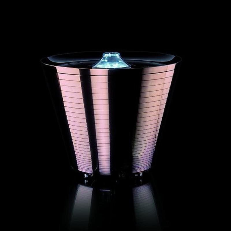 Настольная/напольная лампа-контейнер Rotaliana розовая Multipot