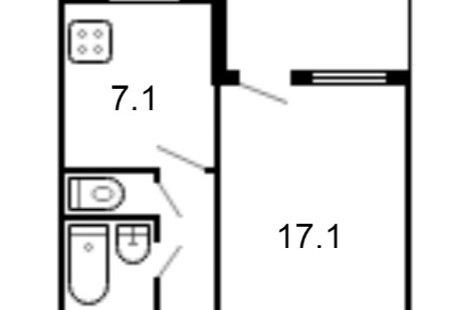 Подскажите как лучше разделить одну комнату на две