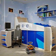 Фото из портфолио Дитячі меблі – фотографии дизайна интерьеров на INMYROOM