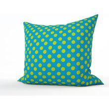Декоративная подушка: Зеленый горошек