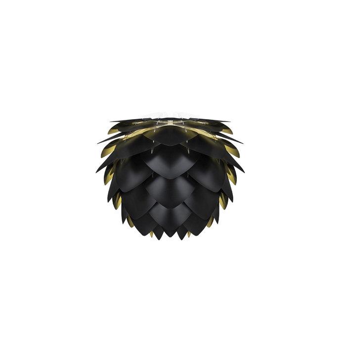 Плафон Silvia Mini black & gold черного цвета
