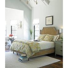 Фотография: Спальня в стиле Кантри, Дизайн интерьера, Морской – фото на InMyRoom.ru