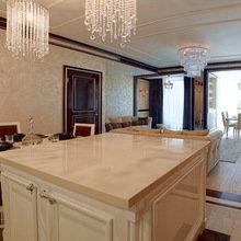 Фотография: Кухня и столовая в стиле Классический, Квартира, Дома и квартиры, Ар-деко, Неоклассика – фото на InMyRoom.ru