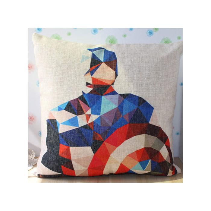"""""""Капитан Америка"""" чехол для подушки"""