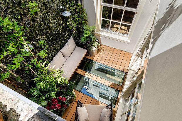 Фотография: Терраса в стиле Эко, Лофт, Современный, Декор интерьера, Архитектура, Планировки, Белый, Бежевый, Более 90 метров – фото на INMYROOM