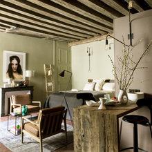 Фото из портфолио Миниатюрная однокомнатная квартира в Париже – фотографии дизайна интерьеров на INMYROOM