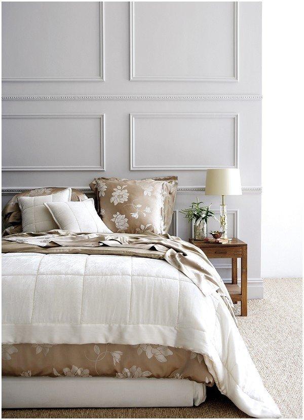 Фотография: Спальня в стиле Современный, Декор интерьера, Декор дома, Стеновые панели – фото на InMyRoom.ru
