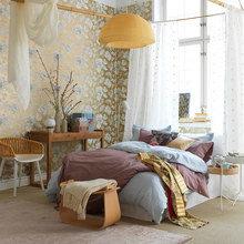 Фотография: Спальня в стиле Современный, Восточный, Декор интерьера, Интерьер комнат, Проект недели – фото на InMyRoom.ru