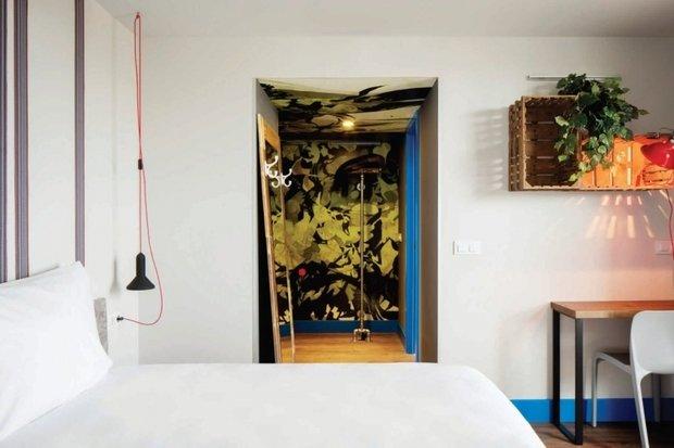 Фотография: Спальня в стиле Прованс и Кантри, Скандинавский, Современный, Декор интерьера, Испания, Дома и квартиры, Городские места, Отель, Барселона – фото на InMyRoom.ru