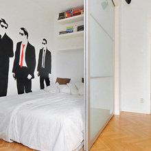 Фотография: Спальня в стиле Скандинавский, Декор интерьера, Малогабаритная квартира, Квартира, Дом, Дома и квартиры – фото на InMyRoom.ru