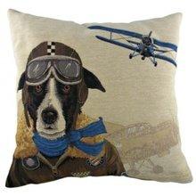 """Подушка """"Doggie Fighters Blue"""""""