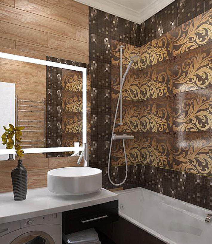 Фотография: Ванная в стиле Современный, Классический, Эклектика, Квартира, Проект недели – фото на InMyRoom.ru