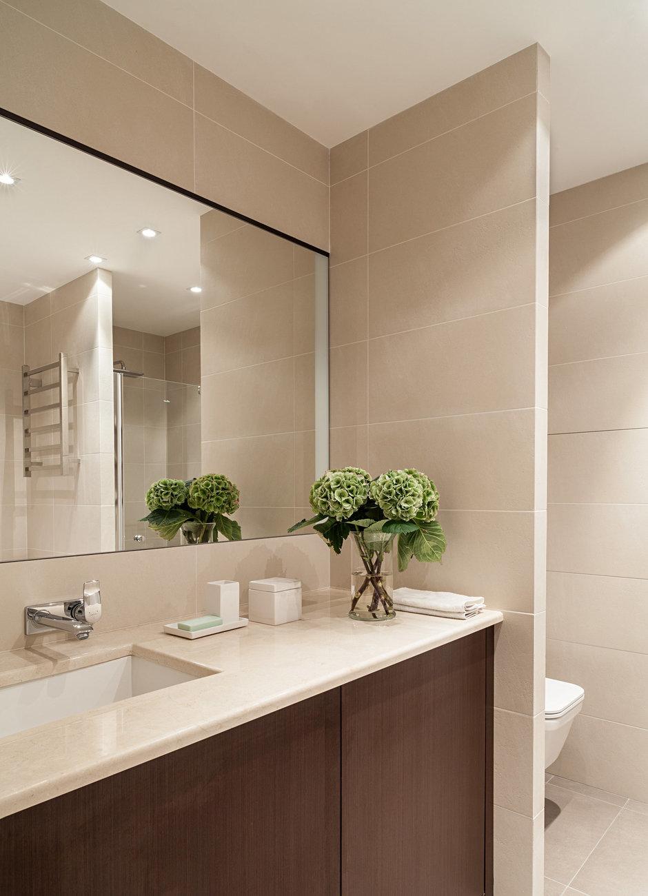 Фотография: Ванная в стиле Современный, Классический, Квартира, Дома и квартиры, IKEA, Проект недели, Дина Салахова – фото на InMyRoom.ru