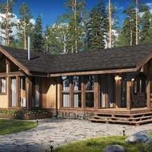 Фото из портфолио Проекты домов Naturi – фотографии дизайна интерьеров на INMYROOM