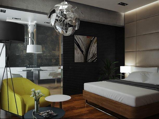 Фотография: Спальня в стиле Современный, Хай-тек, Интерьер комнат – фото на InMyRoom.ru