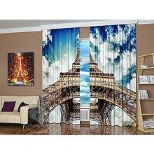 Шторы с фотопечатью: Облака Парижа