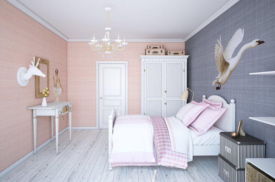 Фотография: Спальня в стиле , Квартира, Дома и квартиры, Проект недели – фото на InMyRoom.ru