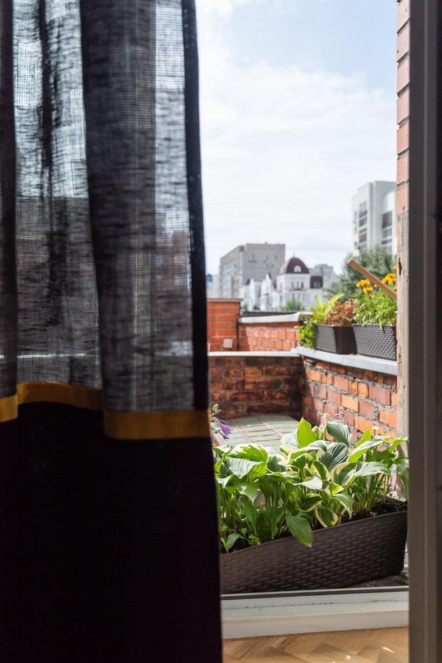 Фотография: Балкон в стиле Современный, Эклектика, Квартира, Проект недели, Екатеринбург, 4 и больше, Более 90 метров, Ксения Ерлакова – фото на INMYROOM
