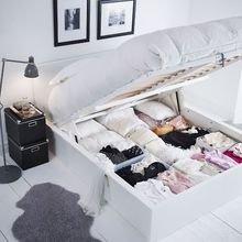 Фотография: Спальня в стиле Скандинавский, Хранение, Стиль жизни, Советы – фото на InMyRoom.ru